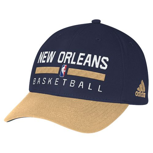 adidas™ Men's New Orleans Pelicans Structured Adjustable Practice Cap