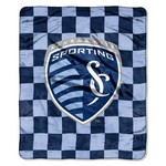 The Northwest Company Sporting Kansas City Raschel Super Plush Throw