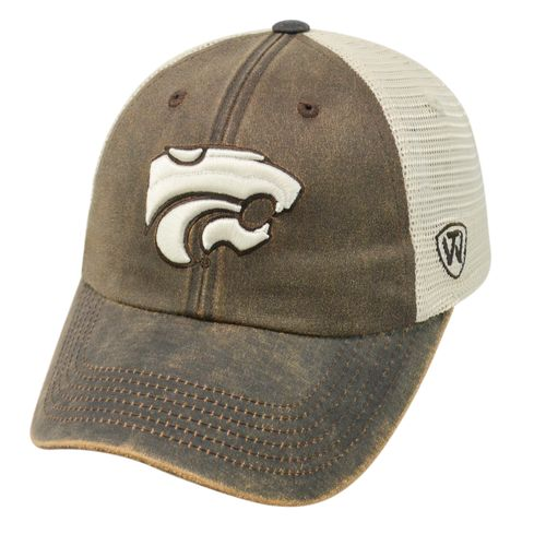 Top of the World Adults' Kansas State University ScatMesh Cap