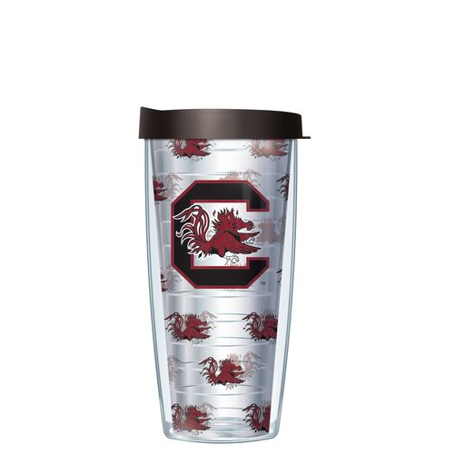 Signature Tumblers University of South Carolina 16 oz. Repeated Pattern Traveler Insulated Tumbler