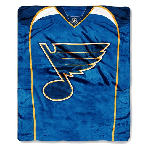 The Northwest Company St. Louis Blues Jersey Super Plush Throw
