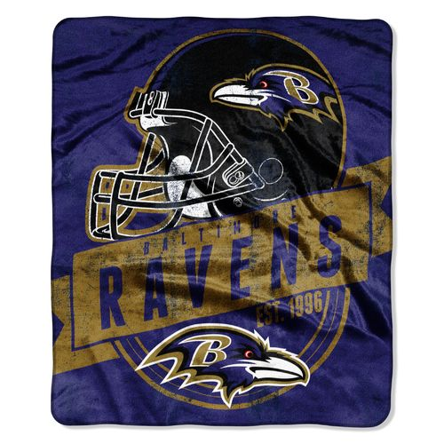 The Northwest Company Baltimore Ravens Grandstand Raschel Throw - view number 1