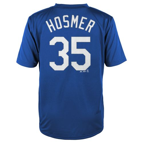 MLB Boys' Kansas City Royals Eric Hosmer #35 Flat Synthetic T-shirt