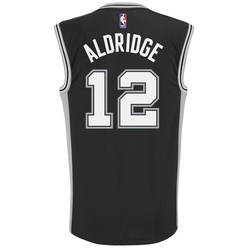 adidas Men's San Antonio Spurs LaMarcus Aldridge No. 12 Replica Jersey