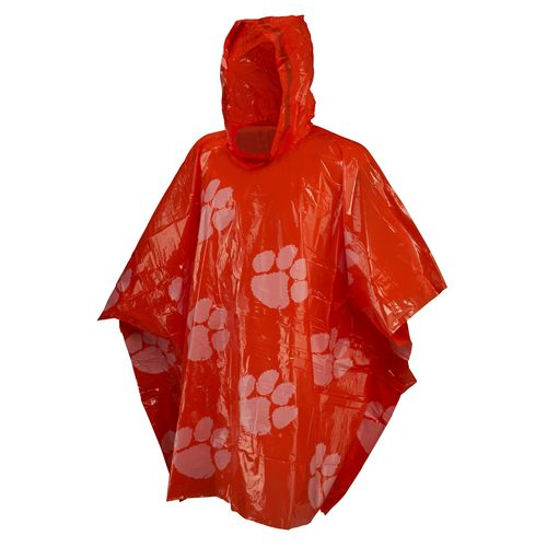 Storm Duds Men's Clemson University Lightweight Stadium Rain Poncho