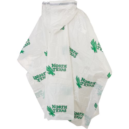 Storm Duds Men's University of North Texas Lightweight Stadium Poncho - view number 2