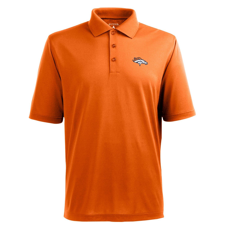 Antigua Men's Denver Broncos Piqué Xtra-Lite Polo Shirt