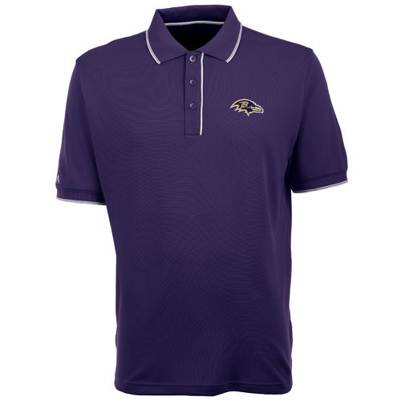 Antigua Men's Baltimore Ravens Elite Polo Shirt