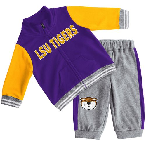 Colosseum Athletics Infant Boys' Louisiana State University Team Captain Fleece Set
