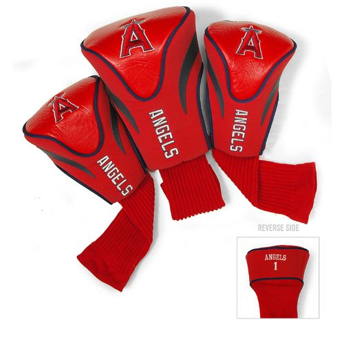 Team Golf Los Angeles Angels Contour Sock Head Covers 3-Pack