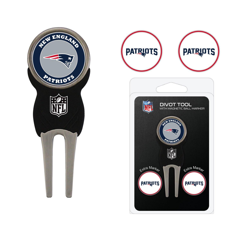 Team Golf New England Patriots Divot Tool and Ball Marker Set