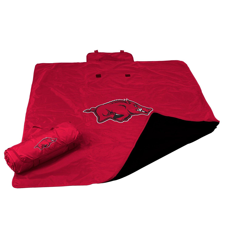 logo university of arkansas allweather blanket