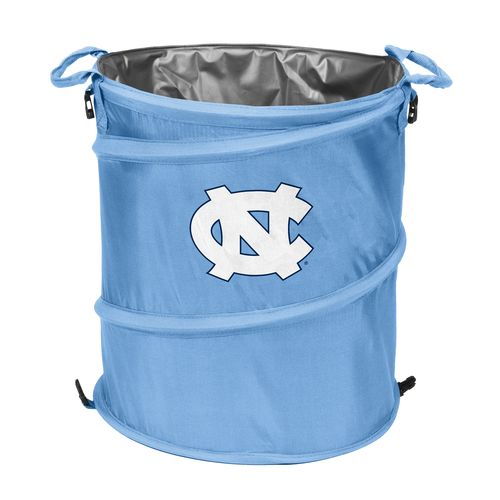 Logo™ University of North Carolina Collapsible 3-in-1 Cooler/Hamper/Wastebasket - view number 1