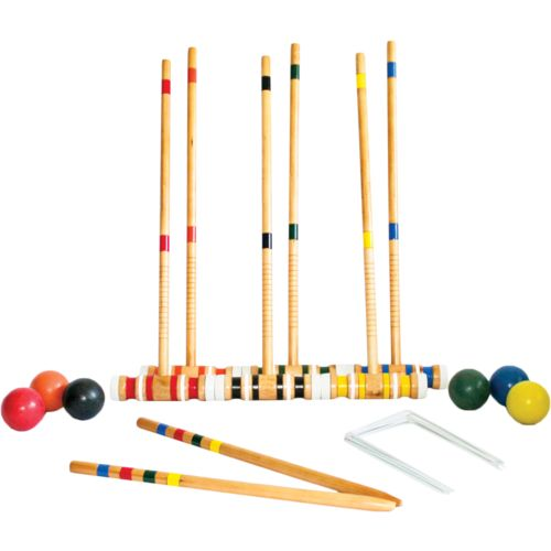 Triumph Sports USA 6-Player Croquet Set