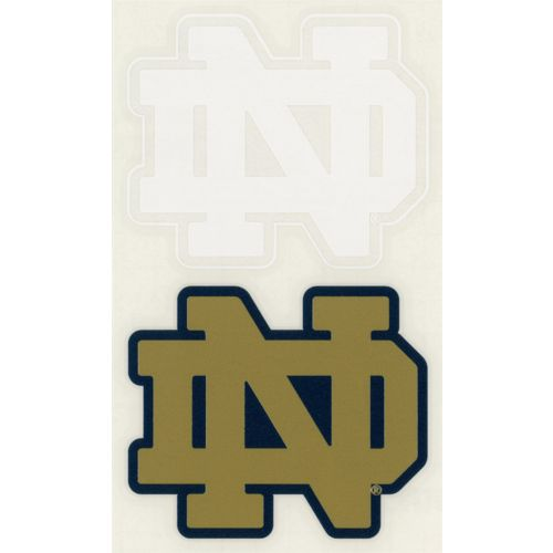 "Stockdale University of Notre Dame 4"" x 7"" Decal"