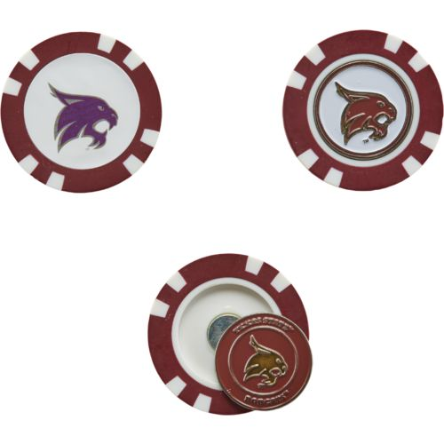 Display product reviews for Team Golf Texas State University Poker Chip and Golf Ball Marker Set