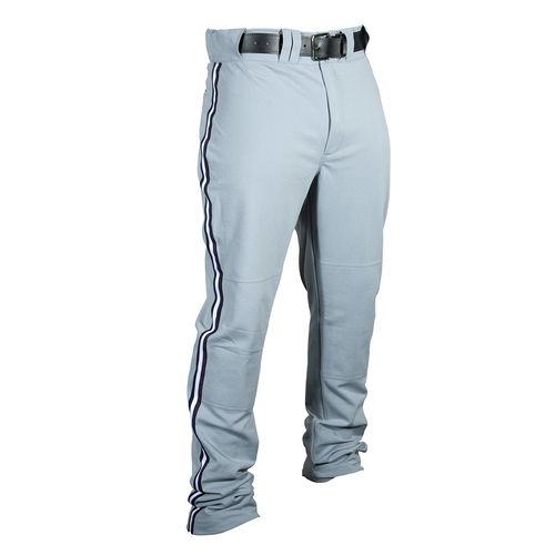 Louisville Slugger Men's Triple Crown Heavy Nylon Boot Cut Pant with Braid Trim