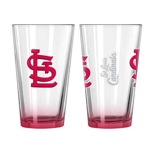 Boelter Brands St. Louis Cardinals Elite 16 oz. Pint Glasses 2-Pack