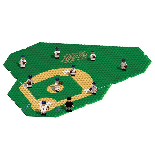 OYO Sports Kansas City Royals Game-Time Buildable Set