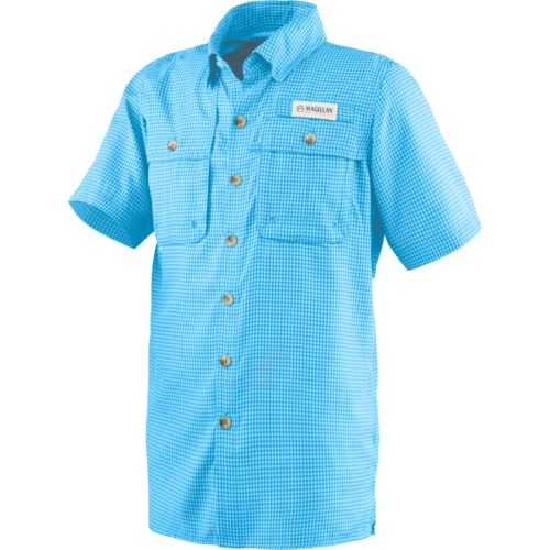 Magellan outdoors boys 39 aransas pass short sleeve fishing for Magellan fishing shirts