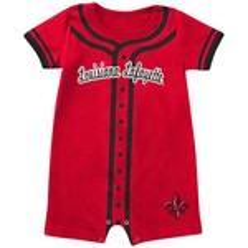 Colosseum Athletics Infants' University of Louisiana at Lafayette Baseball Romper