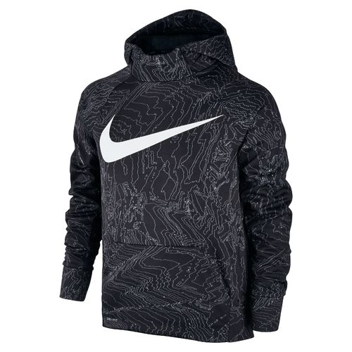 Nike Boys' Therma-FIT Pullover Training Hoodie | Academy