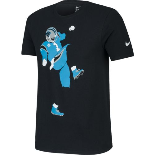 Nike Men's Carolina Panthers Cam Newton Silhouette Jersey