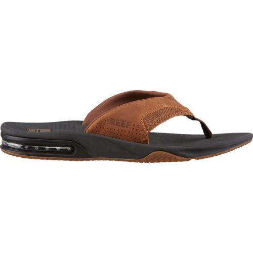 Reef Men's Leather Fanning Sandals - view number 1