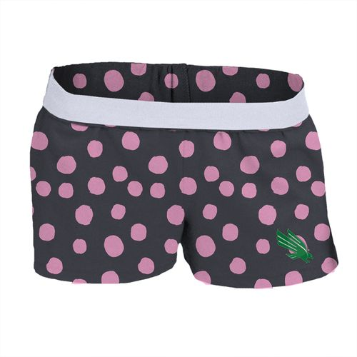 Soffe Girls' University of North Texas Printed Authentic Low Rise Short