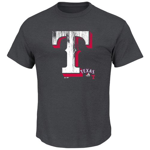 Display product reviews for Majestic Men's Texas Rangers Takin' 'Em to School T-shirt