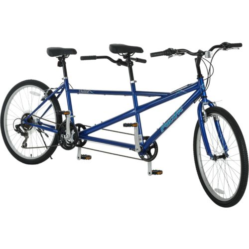 "Pacific Adults' Dualie 26"" 21-Speed Tandem Bicycle"
