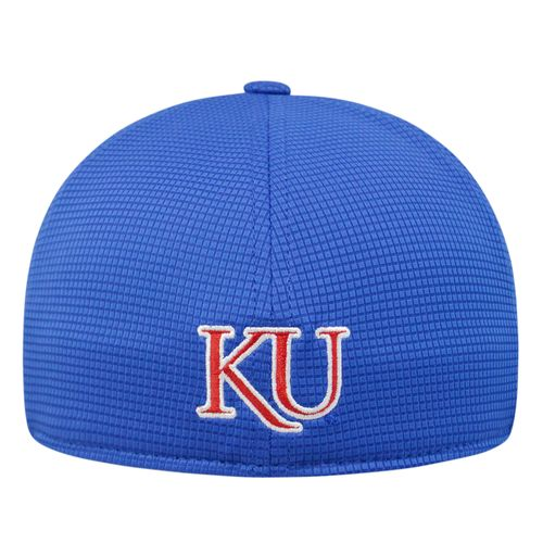 Top of the World Men's University of Kansas Booster Plus Cap - view number 2