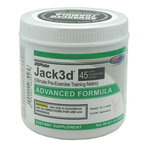 USPlabs Jacked Advanced Pre-Exercise Powder