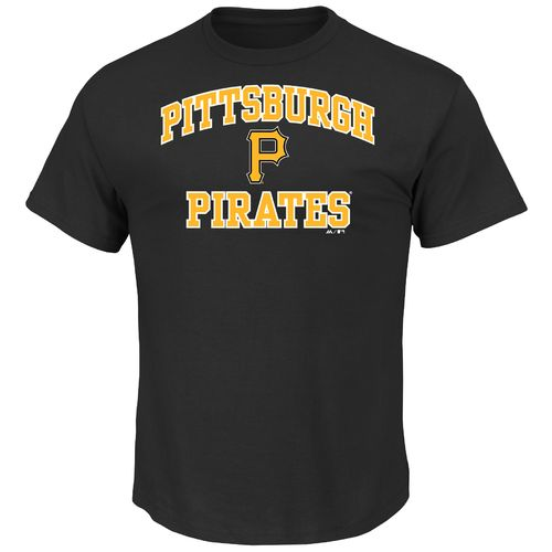 Majestic Men's Pittsburgh Pirates Heart and Soul T-shirt