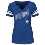 Majestic Women's Los Angeles Dodgers Success is Earned T-shirt
