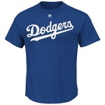 Majestic Men's Los Angeles Dodgers Clayton Kershaw #22 T-shirt - view number 2