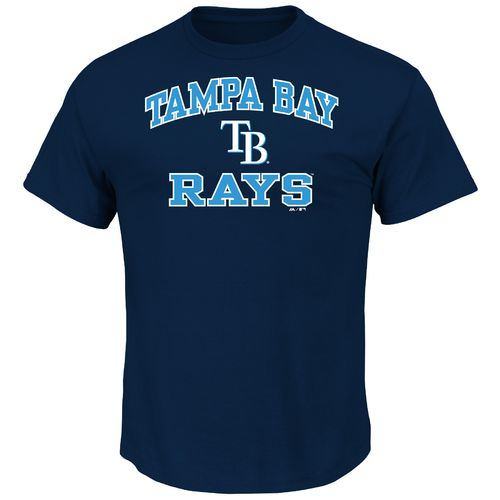 Majestic Men's Tampa Bay Rays Heart and Soul