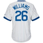 Majestic Men's Chicago Cubs Billy Williams #26 Cooperstown Cool Base 1968-69 Replica Jersey - view number 1