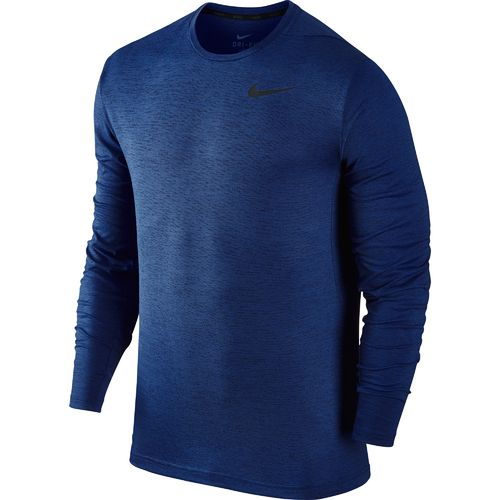 Display product reviews for Nike Men's Dri-FIT Long Sleeve Training T-shirt