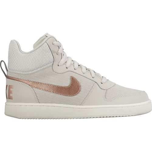 Nike Women's Court Borough Mid Premium Basketball Shoes