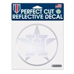 WinCraft Houston Astros Perfect Cut Reflective Decal