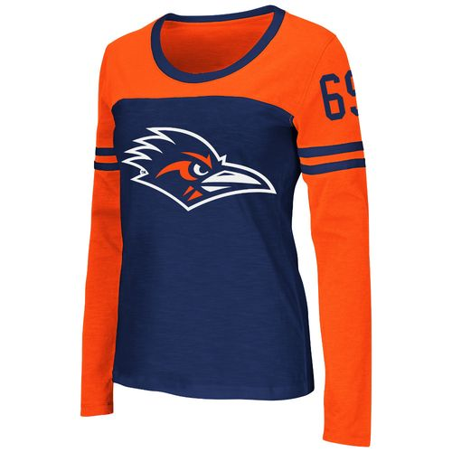 Colosseum Athletics™ Women's University of Texas at San Antonio Hornet Football Long Sleeve