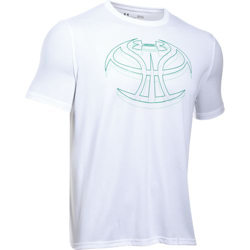 Under Armour Men's 3-D Mapped Basketball Icon T-shirt