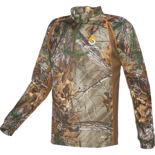 ScentLok Men's BaseSlayers Attack 1/4 Zip Shirt