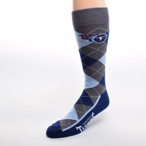 FBF Originals Adults' Tennessee Titans Team Pride Flag Top Dress Socks