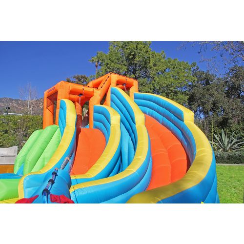 Display product reviews for Sportspower Twin Peaks Water Slide