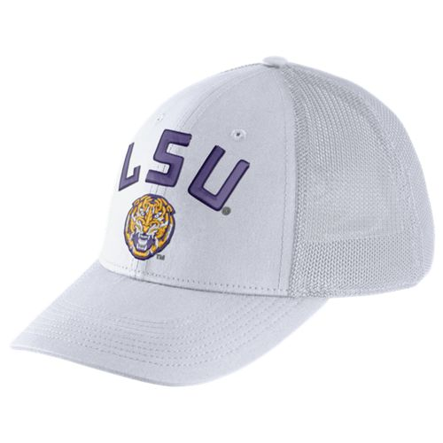 Nike™ Men's Louisiana State University Dri-FIT Legacy91 Mesh Back Swoosh Flex Cap