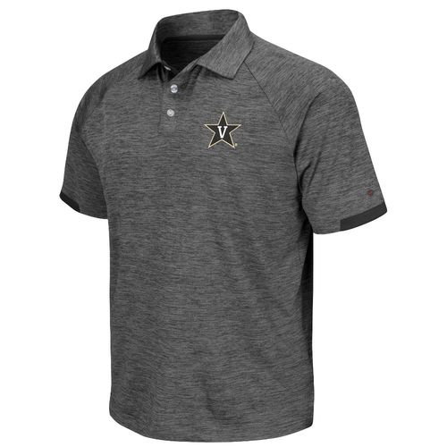 Colosseum Athletics Men's Vanderbilt University Spiral Polo Shirt