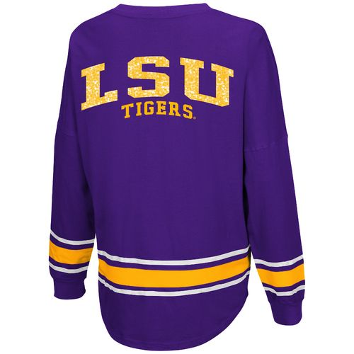 Colosseum Athletics™ Women's Louisiana State University My Boyfriend Varsity Pullover