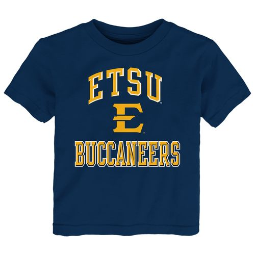 Display product reviews for Gen2 Toddlers' East Tennessee State University Ovation T-shirt